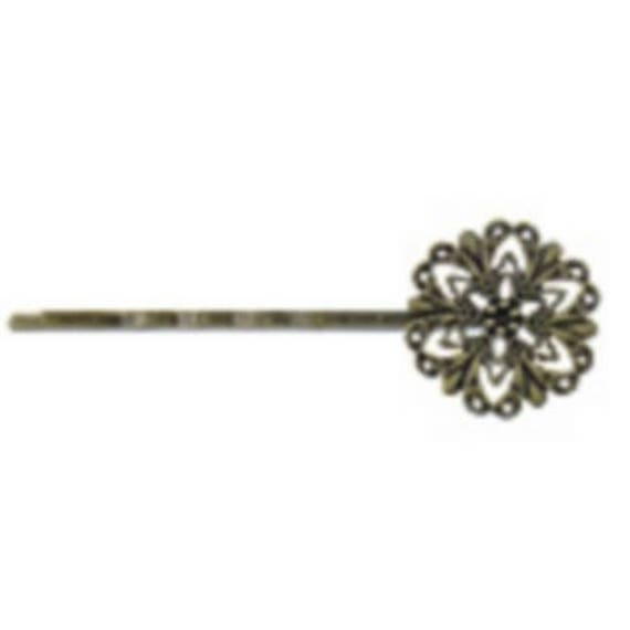 set of 6 hair accessory for hair color bronze