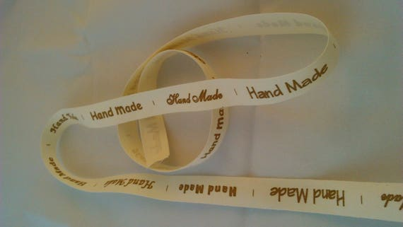 "Twill tape cotton ""hand made"""