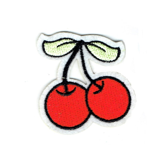 """Patch fusible trend """"cherry"""" pattern"""