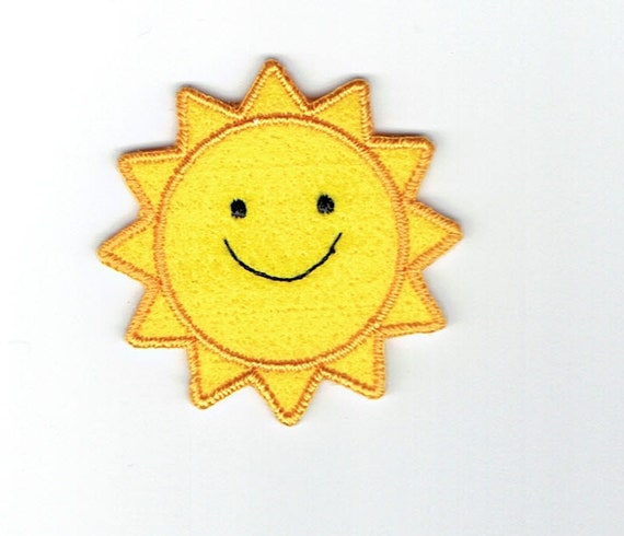 """Patch fusible trend pattern """"Sun"""""""