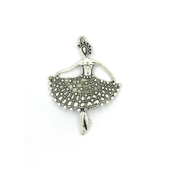 """Great charm - silver colored """"Dancer"""""""