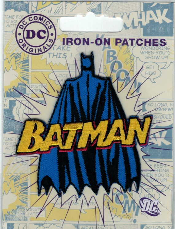 "Patch fusible trend pattern ""Batman"""