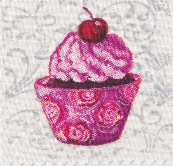 Cup cake 10 - applied fusible to fix to iron
