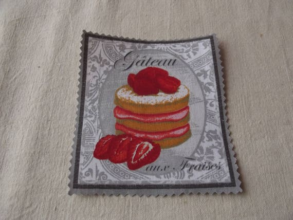 PASTRY 20 - Applied fusible cotton pastry