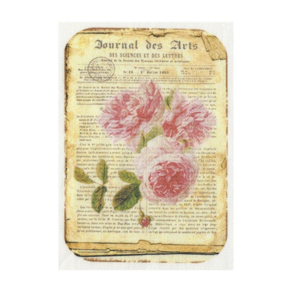 "Applied fusible - Collection ""Old Rose"" AT406-2"