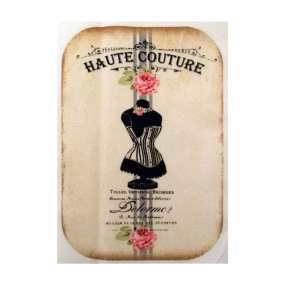 "Applied fusible - AT412-2 ""Haute Couture"" Collection"