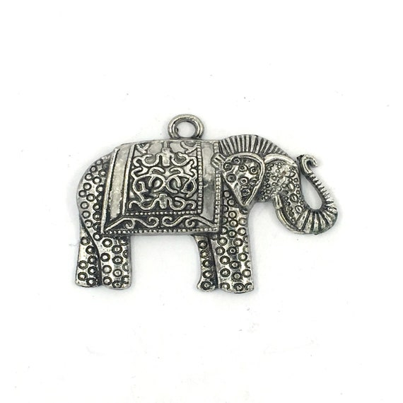 "Great charm - silver tone ""elephant"""