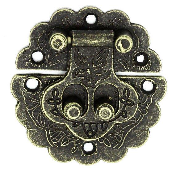 1 clasp set - bronze - size: 41 mm