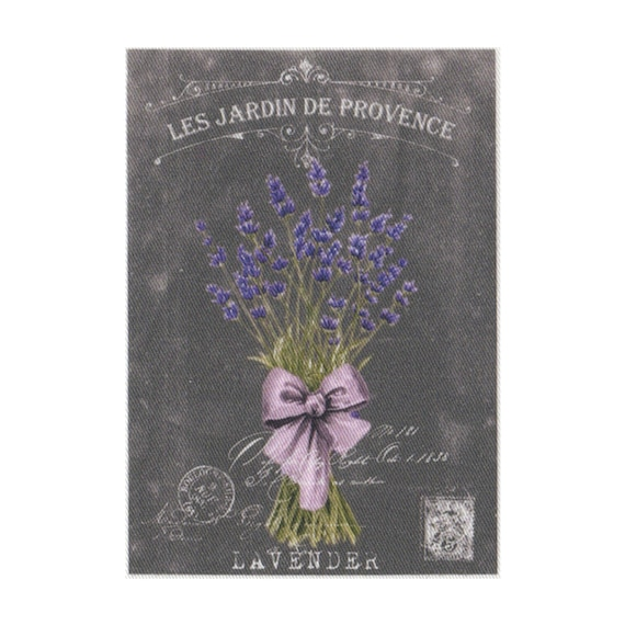 """Applied fusible - Collection """"Lavender background chalk"""" AT404-9"""