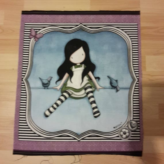 LARGE sign doll size: 52 X 55 cm