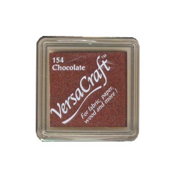 Chocolate VERSACRAFT ink - Light brown - fabric and wood