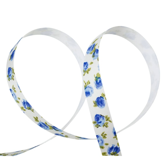 Roll of tape adhesive flower liberty - 15 mm wide