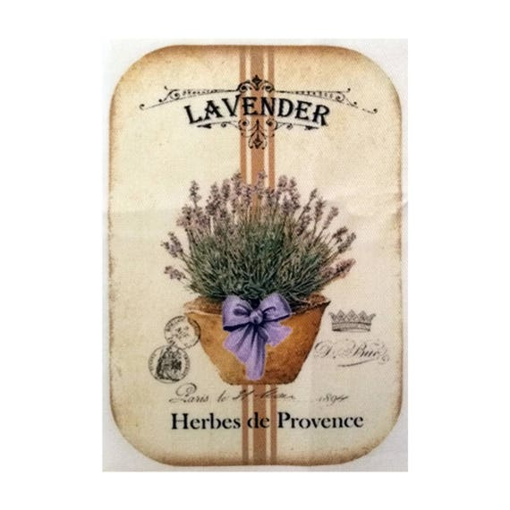 "Applied fusible - Collection ""Lavender"" AT403-6"