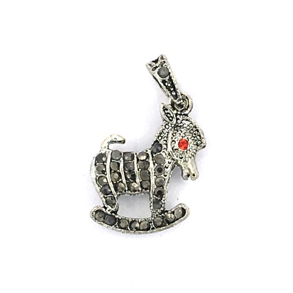 """Great charm - silver colored """"Donkey"""""""