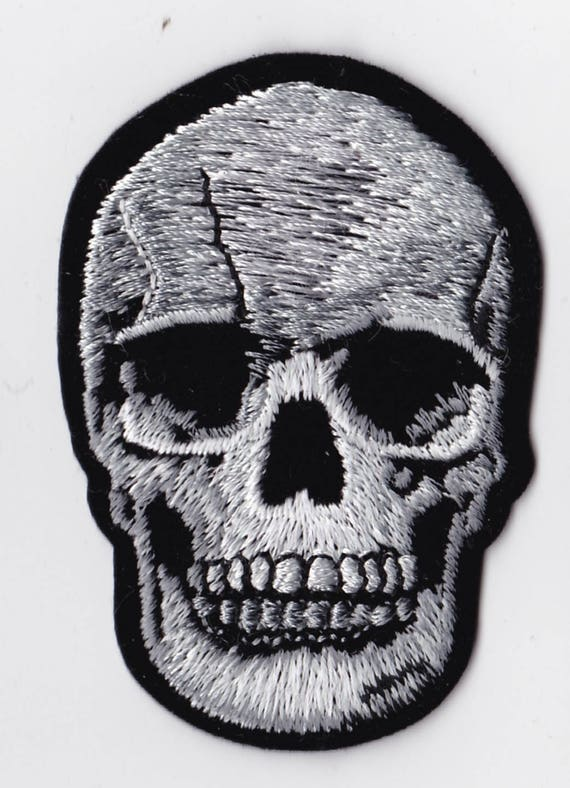 """Patch fusible trend pattern """"skull"""""""