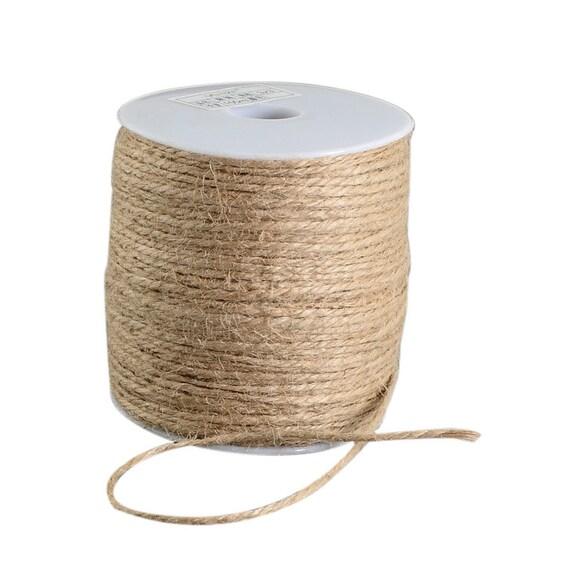 Hemp - 6 M - 2 mm thick linen thread