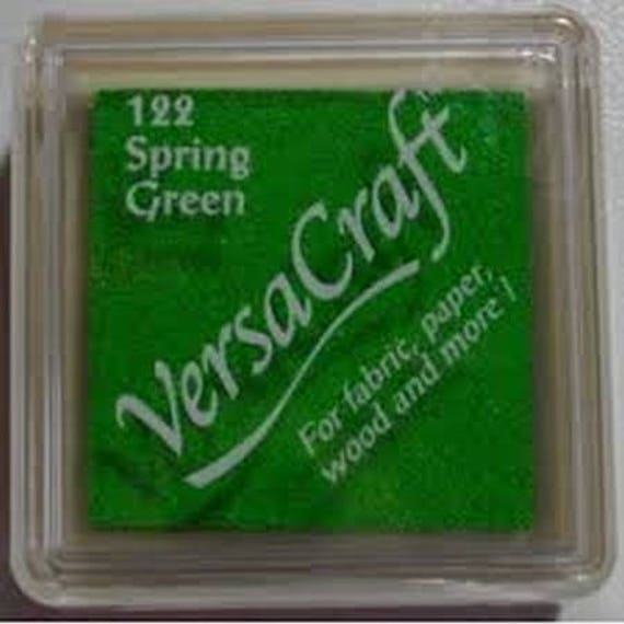 Ink VERSACRAFT Spring green - grass - cloth and wood