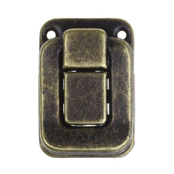 1 clasp set - bronze - size: 40 mm