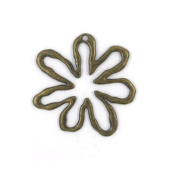 "Great find charms - ""flower"""