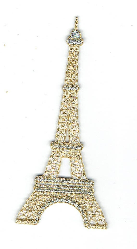 """Patch fusible trend """"Eiffel Tower"""""""