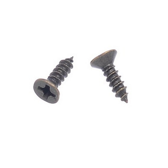 20 screws - bronze - size: 4 x 6 mm