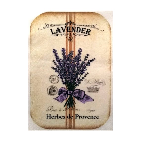 "Applied fusible - Collection ""Lavender"" AT403-2"