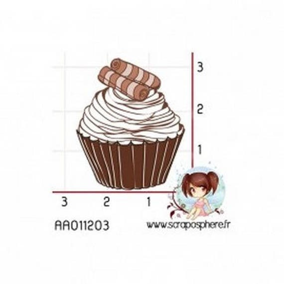Cup Cake 180Tampon rubber mount SCR
