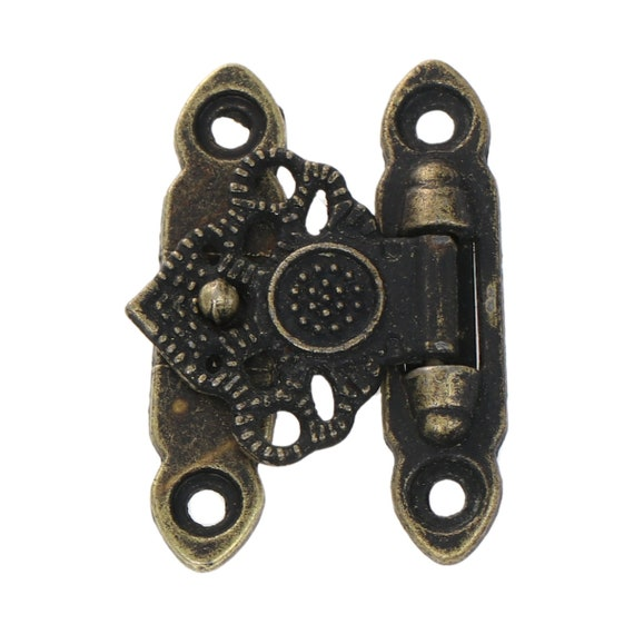 2 sets of clasps - bronze - size: 36 mm