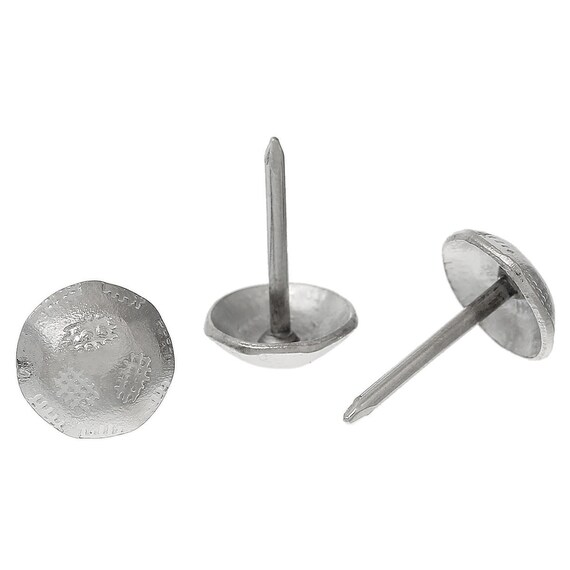 20 nails upholsterer - silver - size: 91 x 11 mm