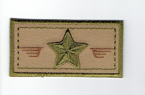 """Patch fusible trend pattern """"Army"""""""