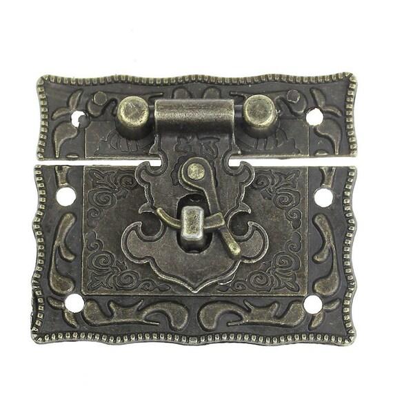 1 clasp set - bronze - size: 51 mm