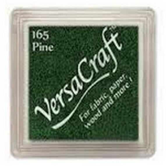 Pine VERSACRAFT ink - dark green - fabric and wood