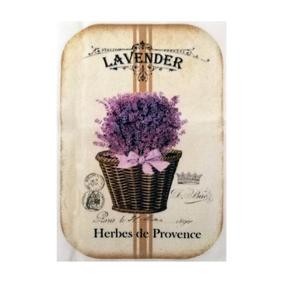 "Applied fusible - Collection ""Lavender"" AT403-7"