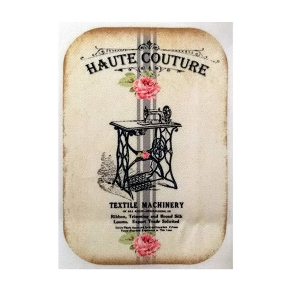 "Applied fusible - AT412-9 ""Haute Couture"" Collection"