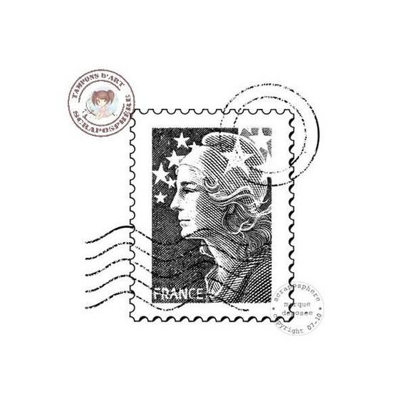 SCR31 scraposphere pattern rubber stamp stamp