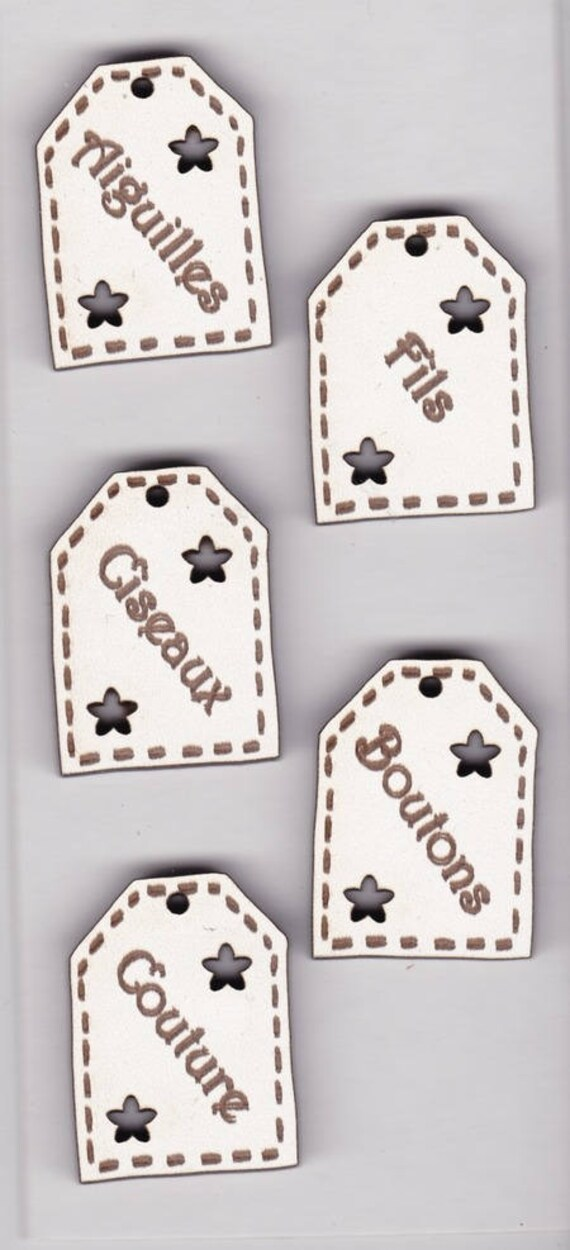 "plate pattern wooden buttons handmade ""label"""