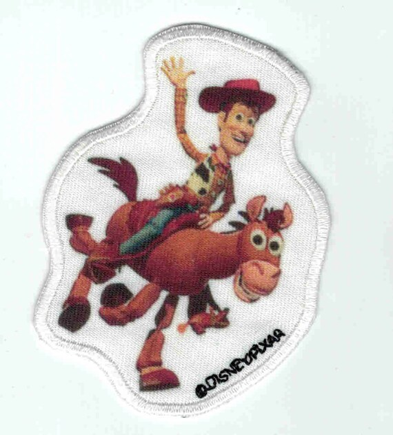 """Patch fusible trend pattern """"toys story"""""""