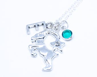 Zodiac Gift Capricorn Necklace Zodiac Capricorn Astrology Gift Capricorn Jewelry Birthday Capricorn Gift Idea Constellation birthstone Woman