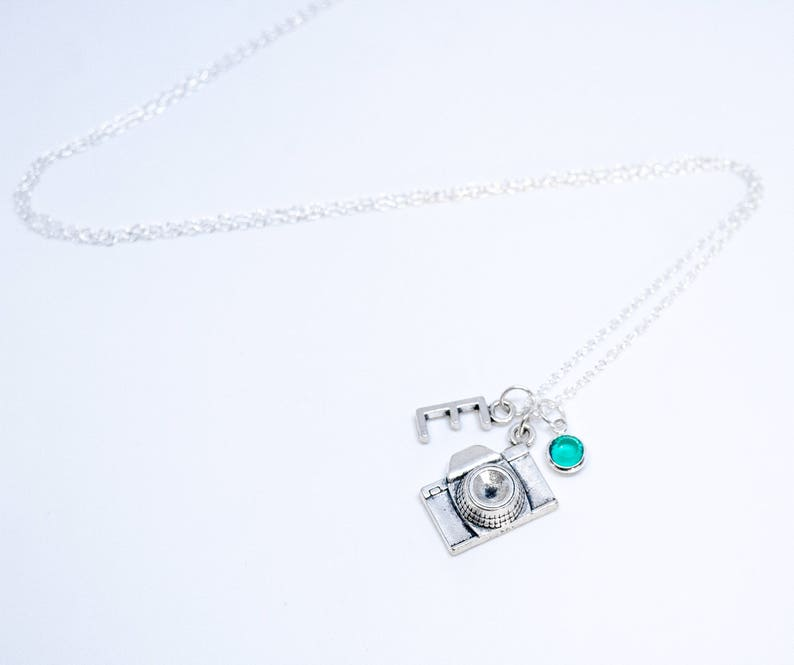 e5aaaa956443 Personalized Camera Gift Photographer Necklace Camera