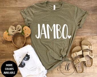 Jambo Tee, Jambo Animal Kingdom Shirt, AK Safari Tee, Animal Kingdom Safari Shirt, Adult Disney Shirt, Disney World Shirt, Disneyland