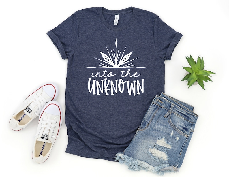 Frozen 2 Tee Disney World Outfit Elsa Inspired T-Shirt Into the Unknown Tee Adult Disney Outfit