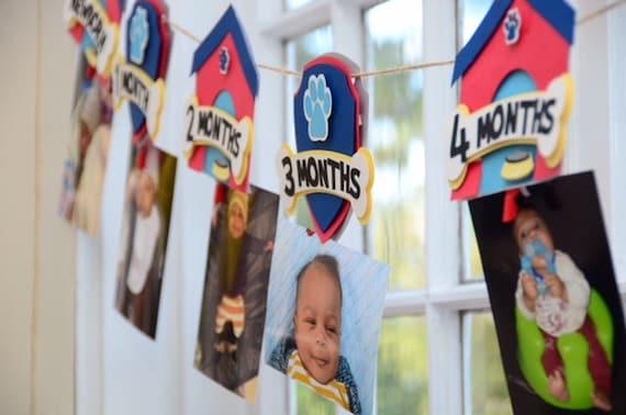 Paw Patrol Banner Birthday Decorations