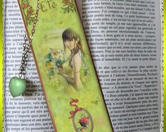 "Plastic -labeled ""Summer"" bookmarks"