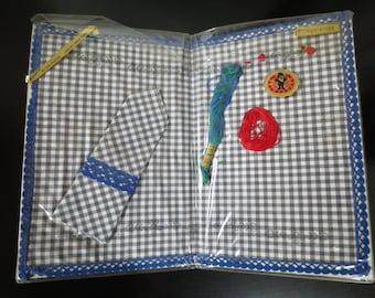 Placemat + napkin embroidery Keinzegarn