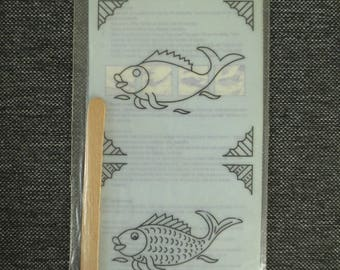 Transfer to ceramic fish - Mitchell Ceramics