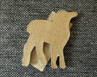 Lamb Efco Papp Art 2D elements - 5 cm