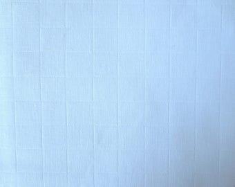 White woven cotton Plaid coupon