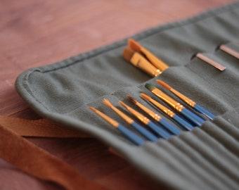 Paint brush roll (customizable)