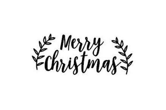 Merry Christmas In Cursive.Clearance Sale Merry Christmas Holiday Cursive Script Font Instant Digital Download Svg Png Jpg