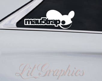 Deadmau5 Mau5trap Decal Sticker